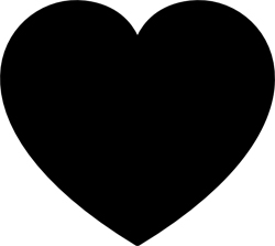 250x223 Heart Shaped Clipart Heart Outline