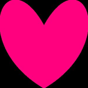 300x300 Pink Heart Clip Art