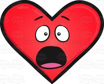 400x322 Heart Shape Clipart