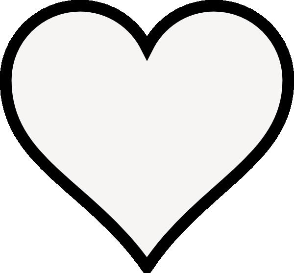 600x557 Blue Heart Shape Clip Art