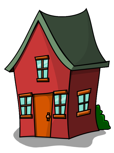 480x640 Clipart Of House