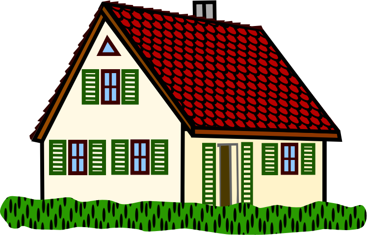748x479 Clipart Of Houses
