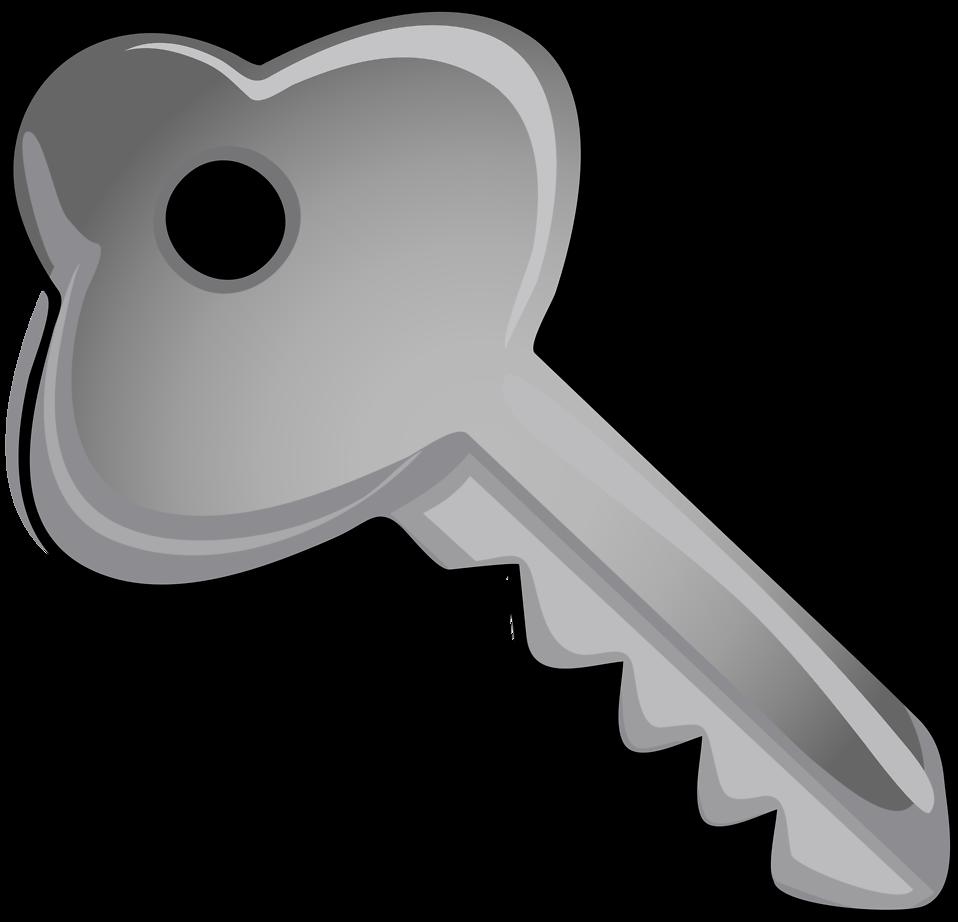 958x922 Key Free Stock Photo Illustration Of A Silver Key