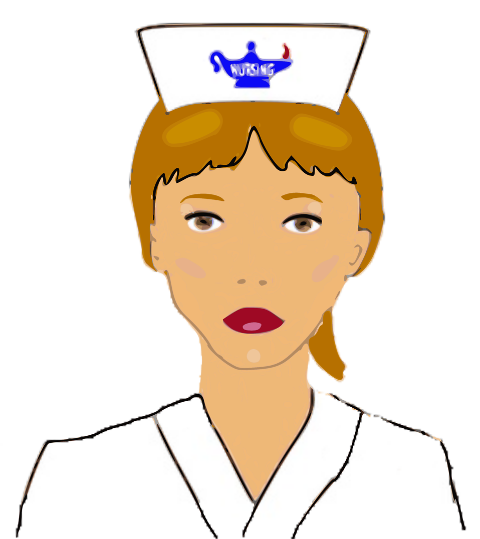 958x1076 Nurse Free Stock Photo Illustration Of A Nurse