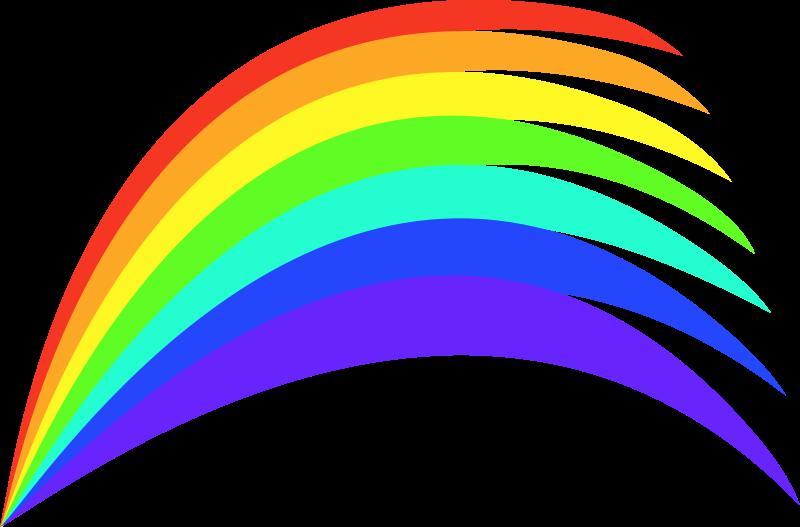800x527 Free Rainbow Clipart