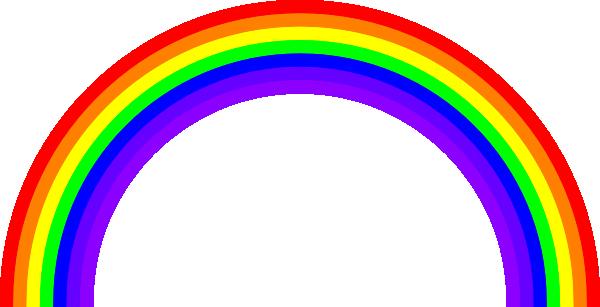 600x307 Rainbow Clip Art