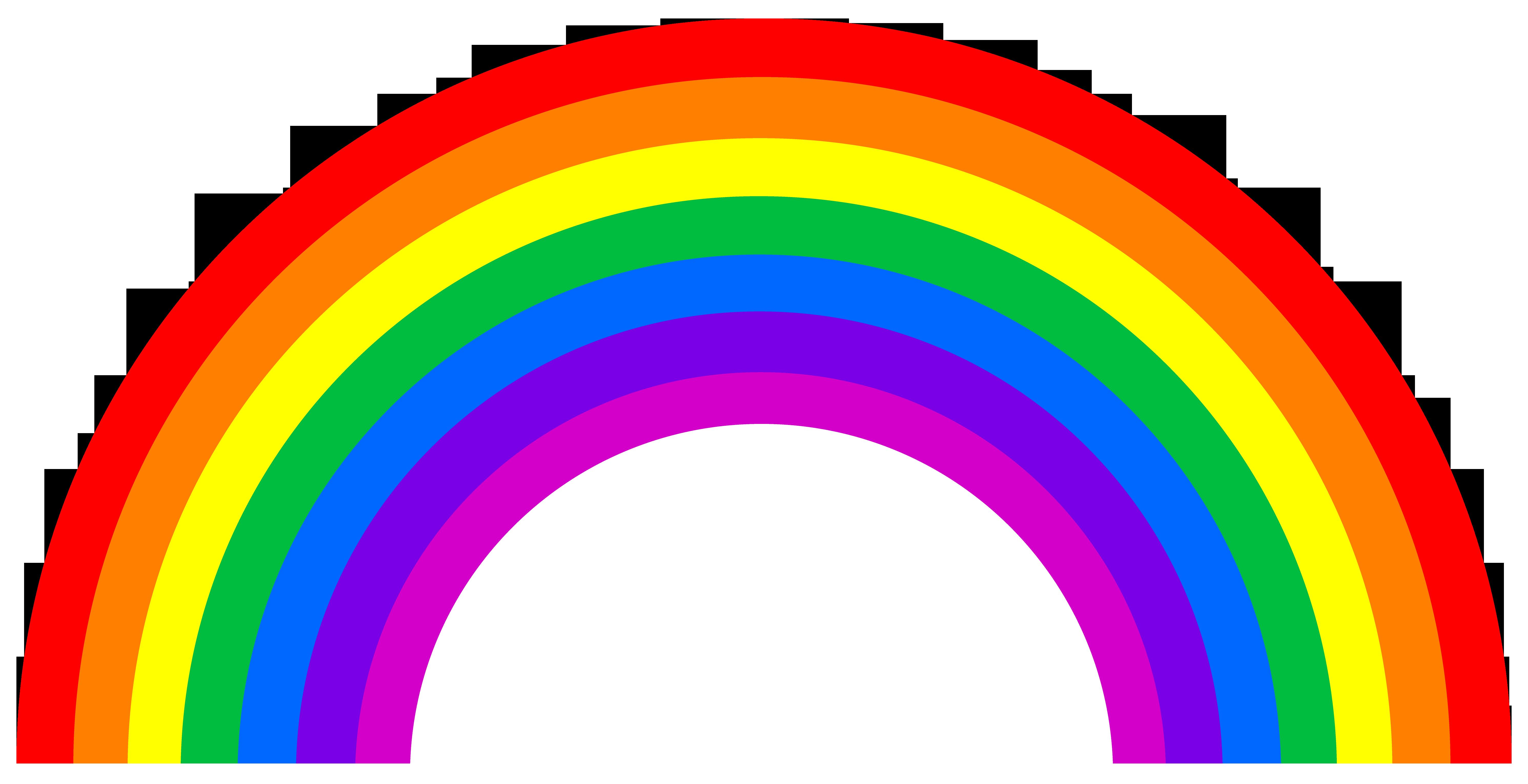 5961x3059 Cute Small Rainbow Arc