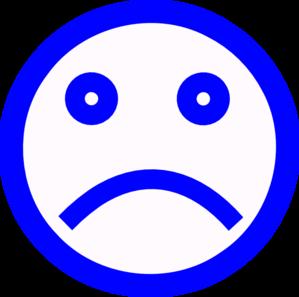 299x297 Sad Face Clip Art