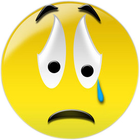 274x274 Sad Face Crying Clipart Clipartcow 2