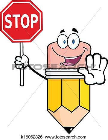 361x470 Clipart Of Stop Sign