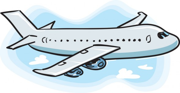 588x305 Airplane Clipart Airplane Flying