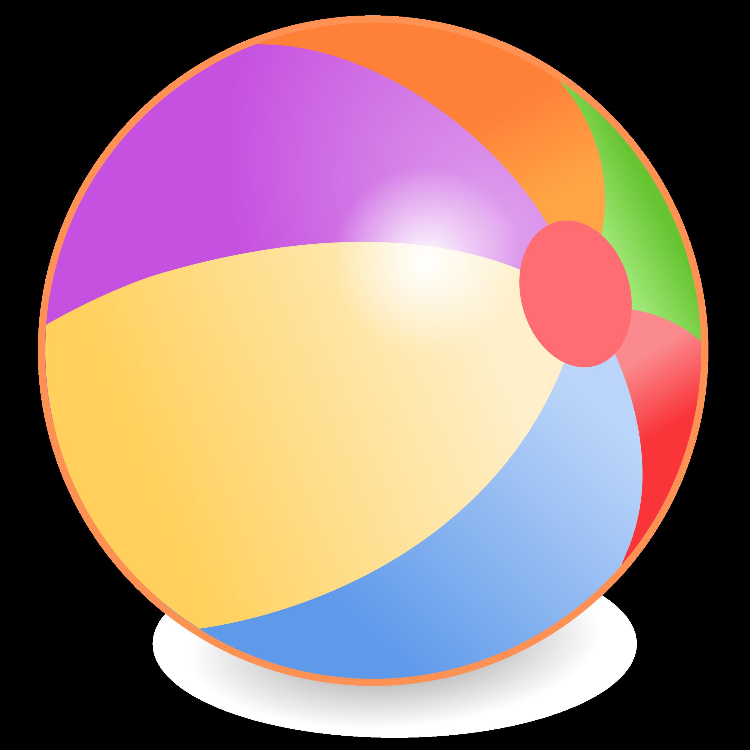 2400x2400 Beach Ball Clipart Beachball
