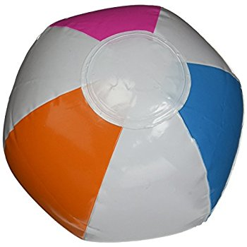 350x350 Mini Inflatable Beach Ball (12 Inch) Toys Amp Games