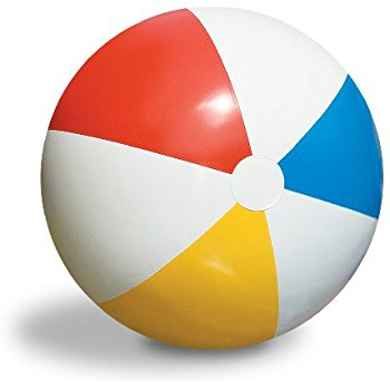 350x350 Us Toy Inflatable Giant Beach Ball, 48 Toys Amp Games