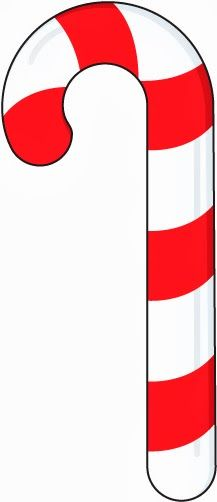 217x502 Candy Cane Scraps On Candy Canes Vintage Christmas Clip Art