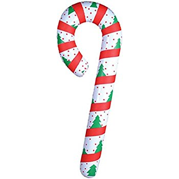 350x350 New Festive Inflatable Candy Cane Christmas Decoration