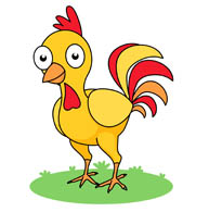 193x195 Free Chicken Clipart