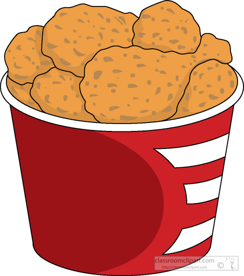 486x550 Meat Clipart Clipart bucket fried chicken clipart 5185