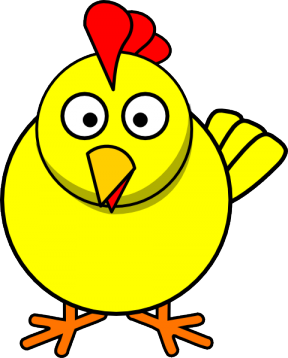 288x358 rubber chicken clipart