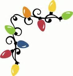 236x246 Christmas Lights Clip Art 1, Christmas Lights Art