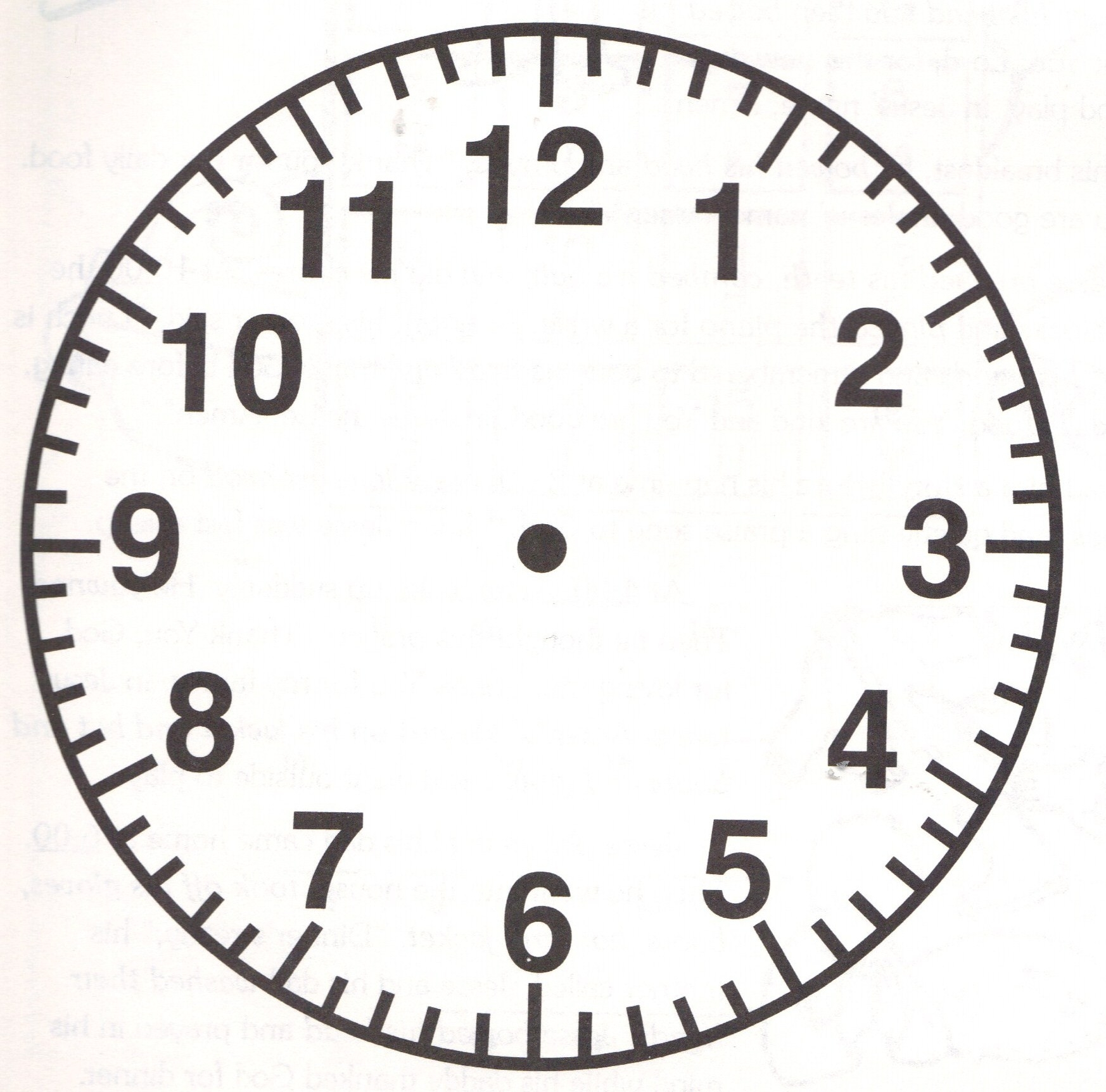 1746x1725 Blank Wall Clock Choice Image