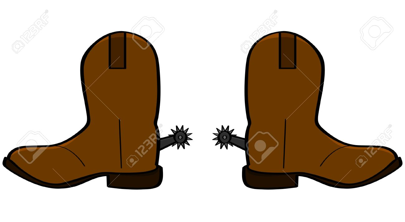 1300x713 3,126 Cowboy Boot Stock Vector Illustration And Royalty Free