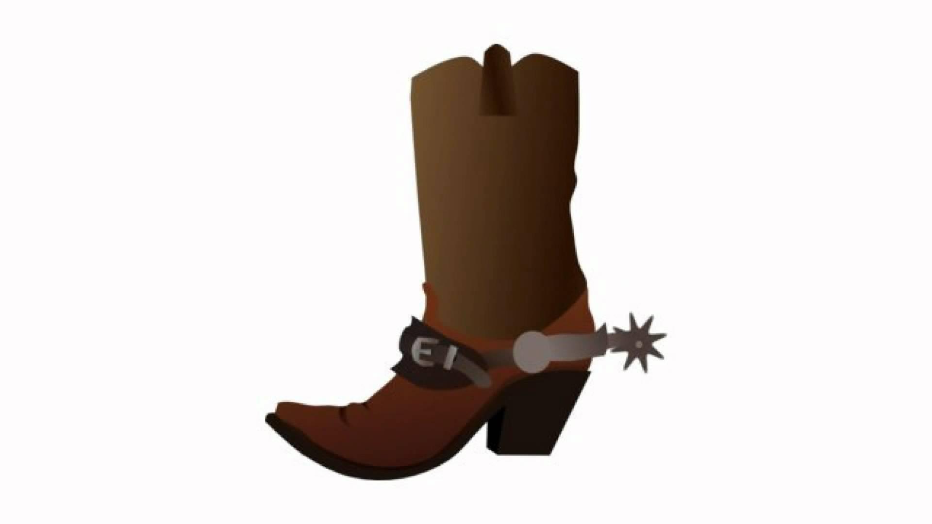 1920x1080 Cowboy Boot Cowboy Spurs Clipart
