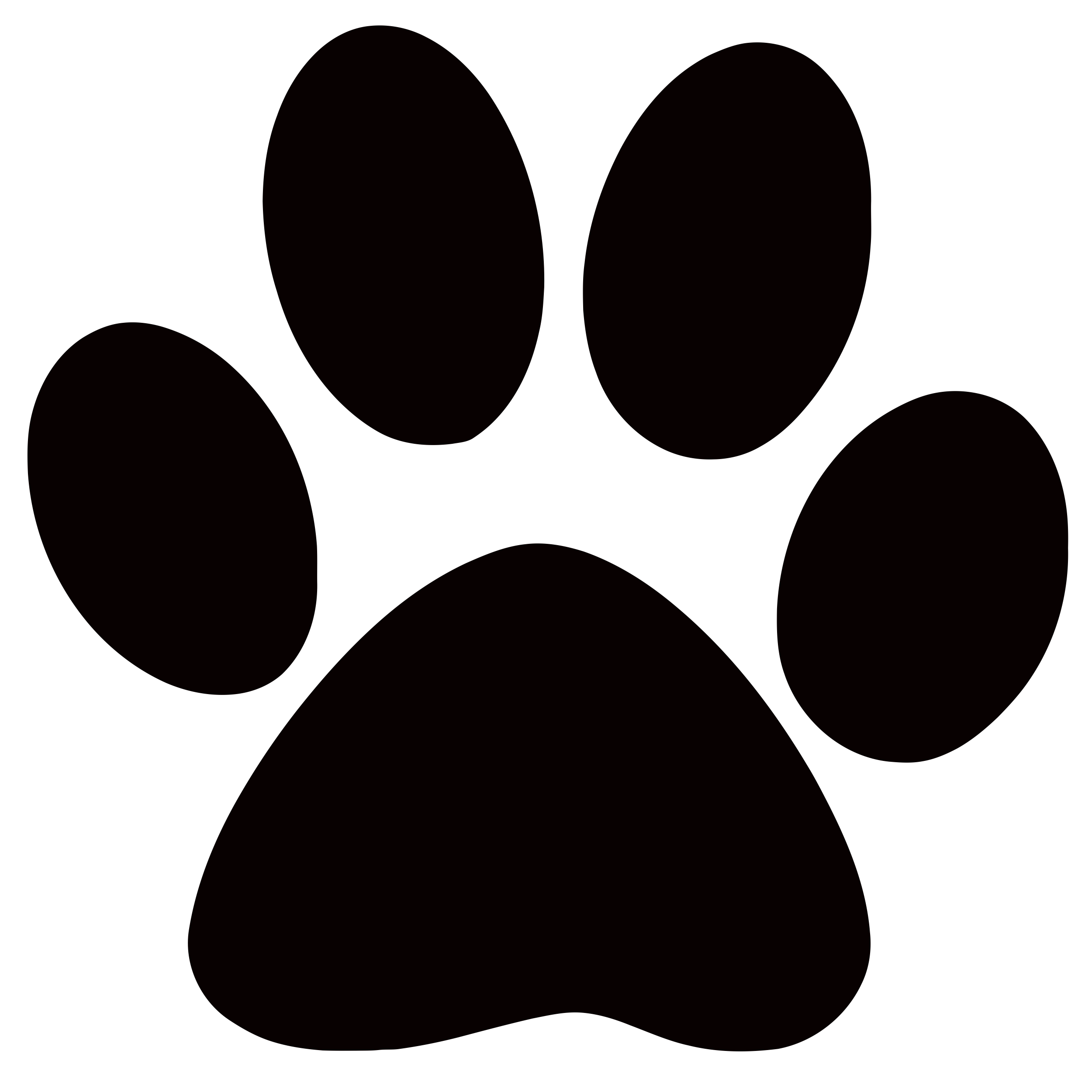 2500x2500 Dog Paws Clip Art