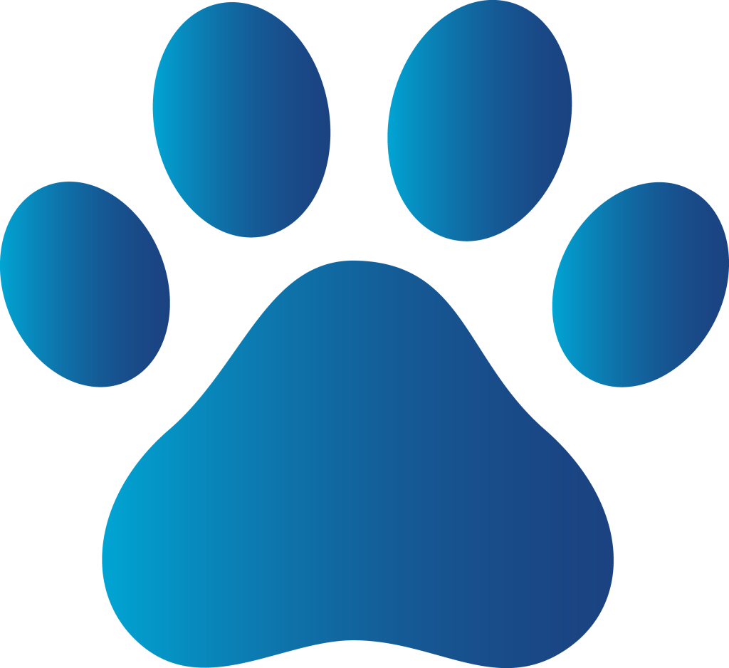 1024x938 Paw Print Wildcats On Dog Paws Dog Paw Tattoos And Clip Art Image