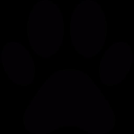 512x512 Dog Paw