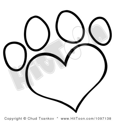 450x470 Dog Paw Print Clip Art Free Download Clipart Panda