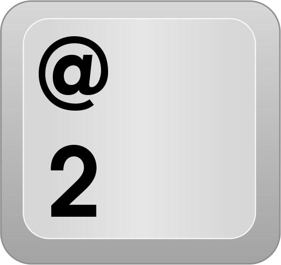 559x527 Computer Key Num Row 2