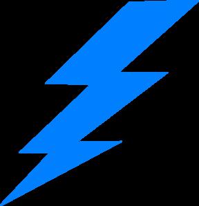 288x298 Lightening Bolt Clip Art