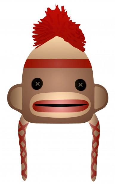 386x615 Sock Monkey Clipart Clipartmonk