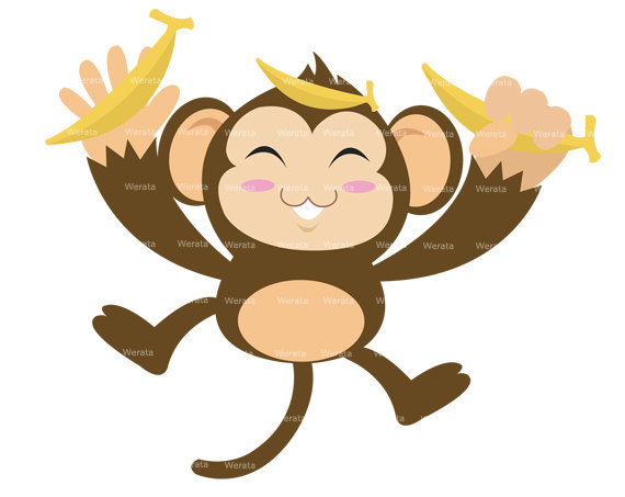 570x453 Cartoon Baby Monkey Clipart Free Clip Art Images Image