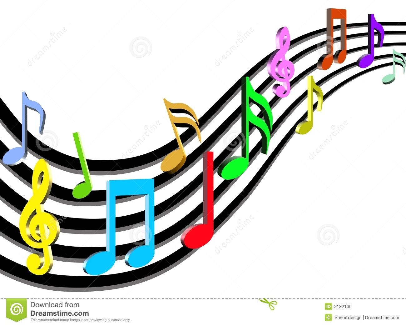 1300x1043 Music Notes Clipart Colorful Clipart Panda