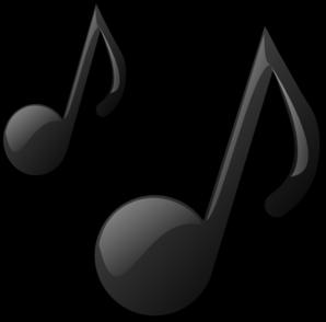 298x294 Music Notes Clip Art