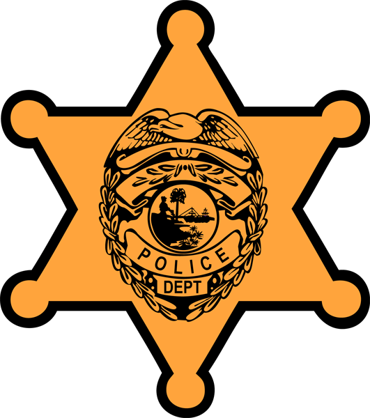 531x600 Police Badge Clipart