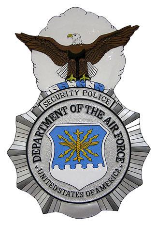 325x466 Usaf Security Police Badge