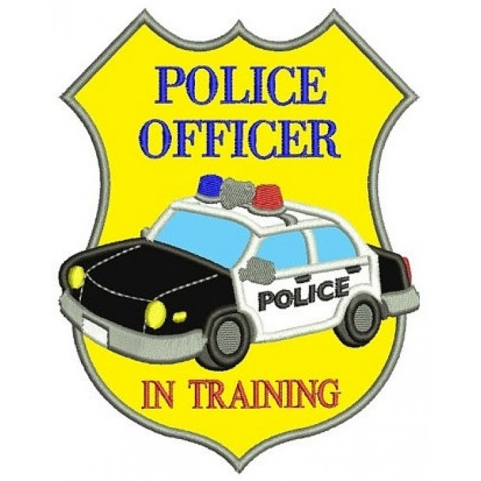 700x700 Police Badge