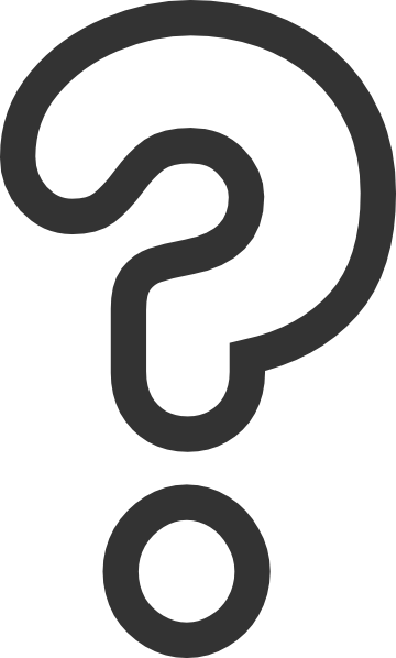 360x598 Bubble Question Mark Clip Art Clipart Panda