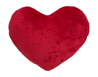 340x270 Red Heart Pillow Etsy