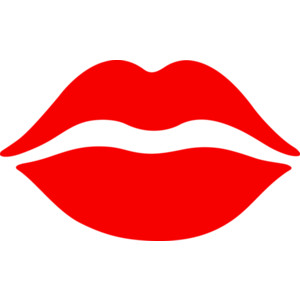300x300 Lips Clipart Red