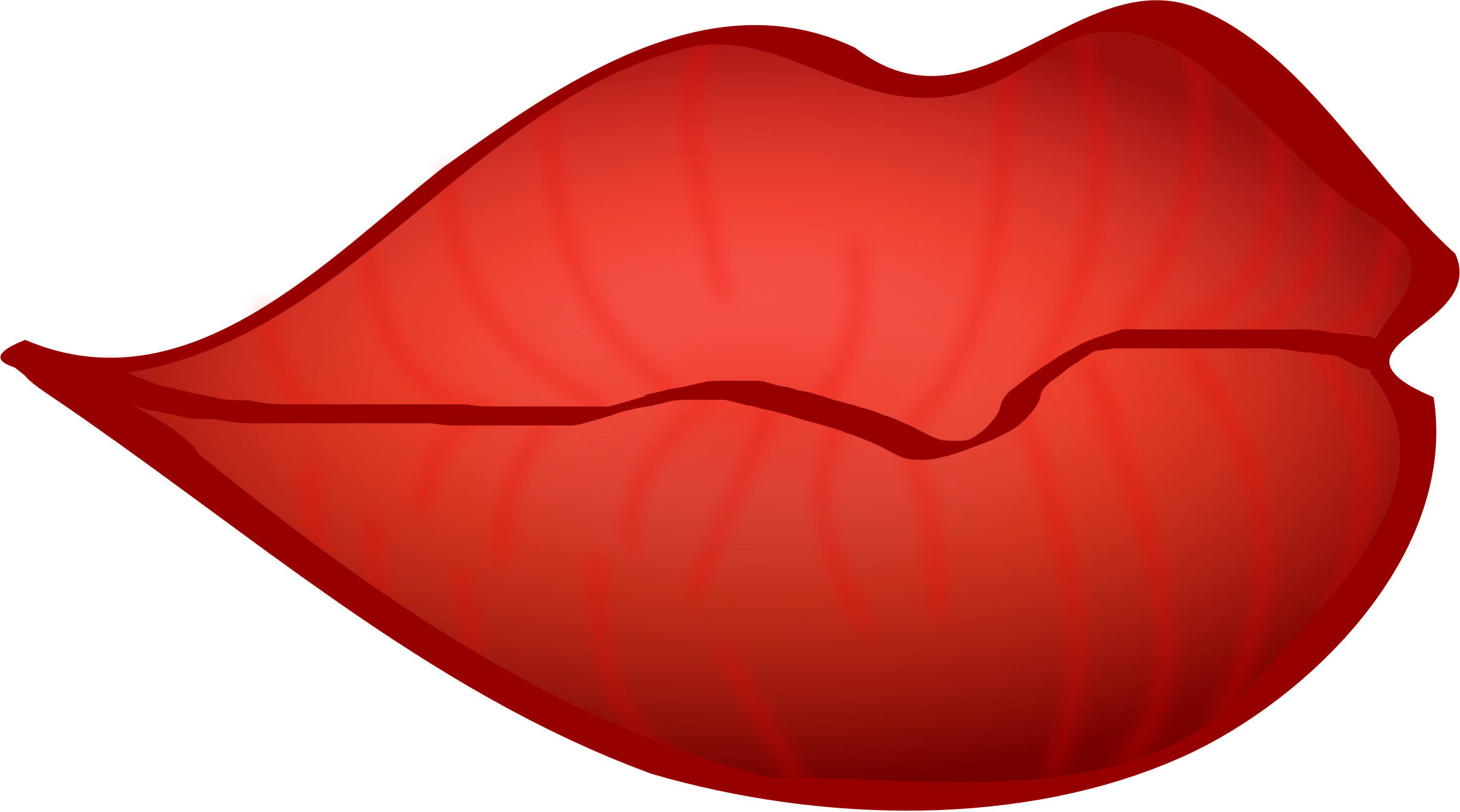 2377x1322 Red Lips Background Pictures)
