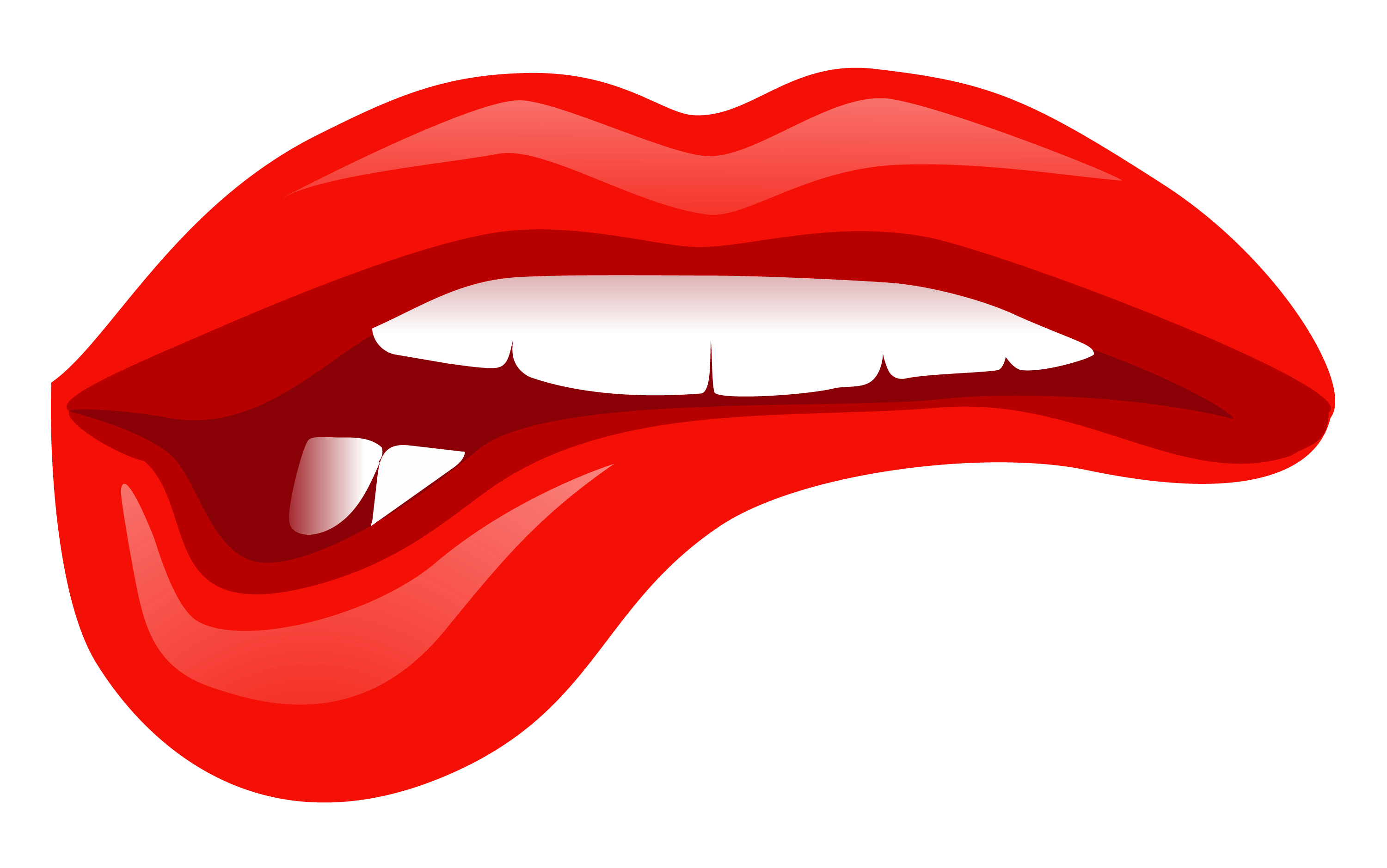 3000x1878 Red Lips Kiss Png Transparent Clipart Image