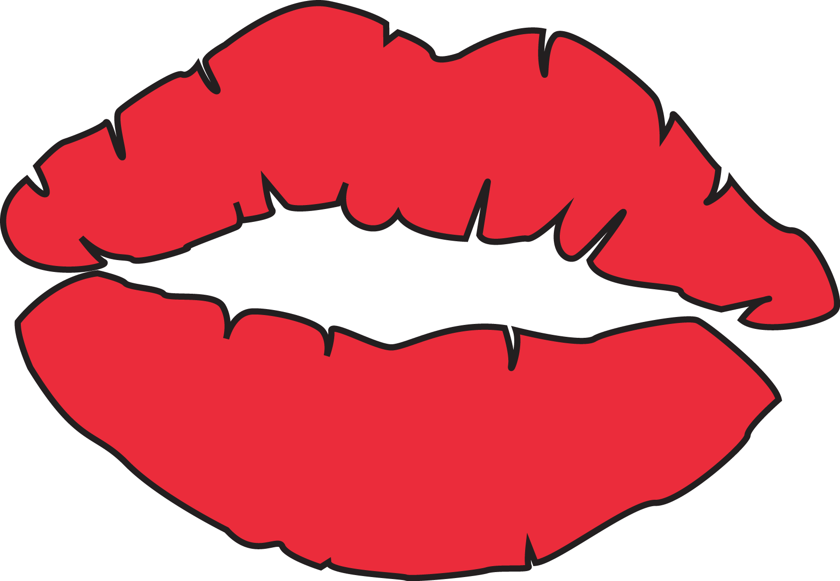 1694x1173 Free Red Lips Clipart Clipart Image