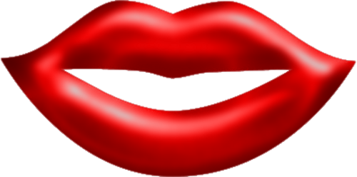 500x248 Lips Red Png Clipart By Clipartcotttage