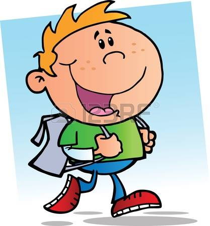 417x450 First Day Of School Clipart
