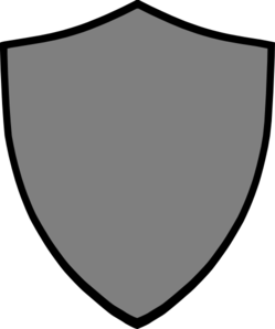249x298 Shield Grey Clip Art