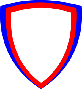 276x300 Double Shield Clip Art